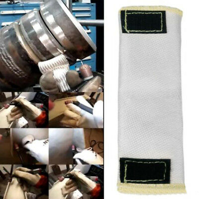 Weld Welding Gloves Tig Finger Heat Shield Cover Protection Beige Comfortable