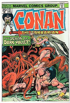 Conan The Barbarian #45, Very Fine - Near Mint Condition'