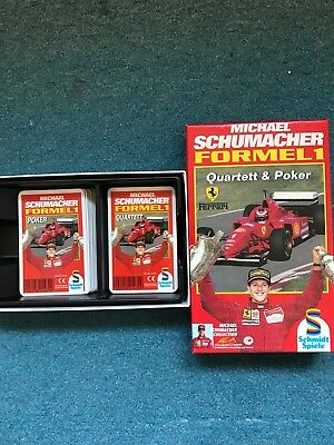 Michael Schumacher FORMEL 1: Quartett & Poker