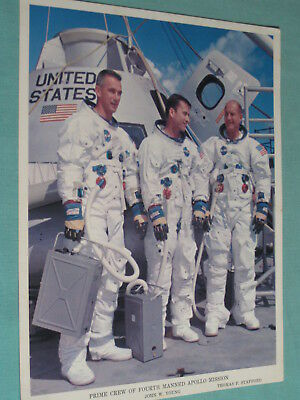 Original NASA 8x10 Photo 1969 APOLLO 10 ASTRONAUTS CREW Moon Mission 149