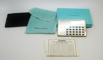 Antique Tiffany 925 Sterling Calculator