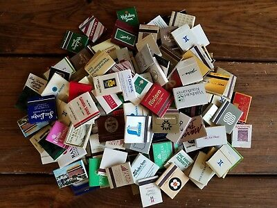 140 + Lot of Vintage Hotel Matches Matchbooks From All Over