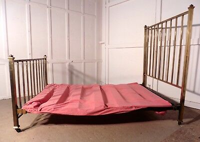 Lovely French Brass Double Bed