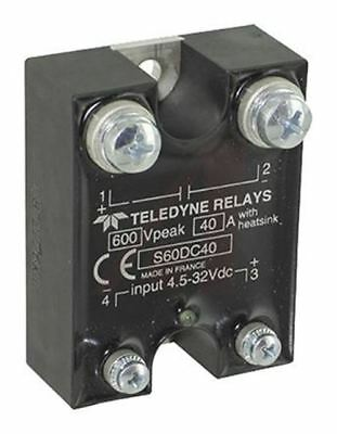 Teledyne 40 A Solid State Relay, DC, Panel Mount MOSFET, 350 V dc Maximum Load