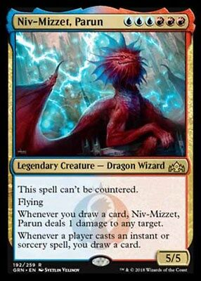 *Magic MtG: Niv-Mizzet, Parun (Rare) - GUILDS OF RAVNICA *TOP*