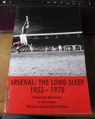 used paperback book,Arsenal: The Long Sleep 1953-1970,view from the terrace