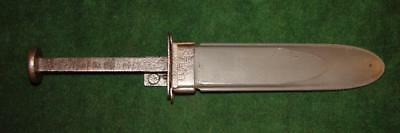 WWII USN MK2 Camillus Fighting Knife from Vet's Estate - Project knife