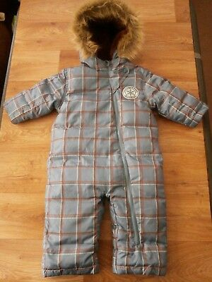 ROOTS CANADA BABY BOYS ALL IN ONE SUIT FEATHER & DOWN  SIZE L  12-18  Months