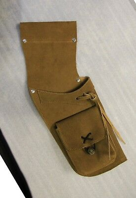Ultra Light Leather ( Suede) Field Quiver Rh