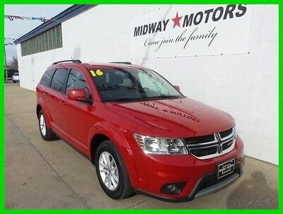 2016 Dodge Journey SXT 2016 SXT Used 2.4L I4 16V Automatic FWD SUV Premium