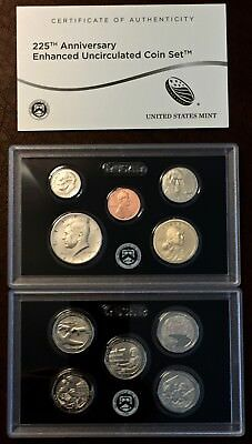 "2017 225th ANNIVERSARY ENHANCED UNCIRCULATED COIN SET ""SAN FRANCISCO"" SOLD OUT"