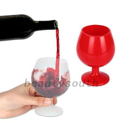 Unbreakable Design Silicon Wine Beer Drinking Cup For Parties Events Wedding