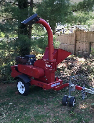 "6"" Gravity Feed Toro BC 25 Wood Chipper-2013"