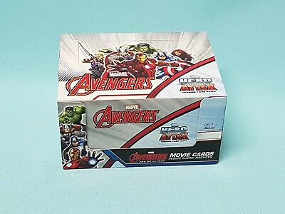Topps Marvel Avengers  Hero Attax  1 x Display / 24 Booster