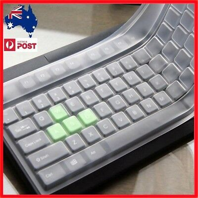 AU Clear Universal Keyboard Skin Protector Cover for PC Computer Desktop