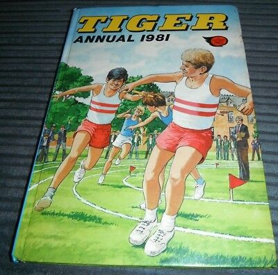 Tiger 1981 Annual Johnny Cougar Grand Prix Skid Solo Hot Shot Hamish Nipper