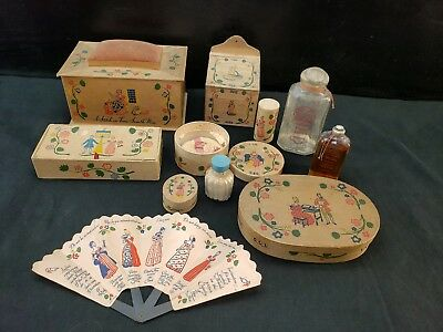 Lot of Vintage Shulton Old Spice Early American Dusting Powder Box and More