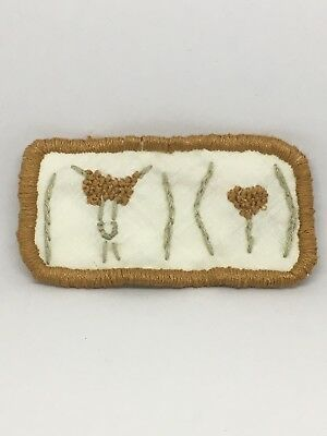 Hand Made Original Embroidery His And Hers Pubes Patch