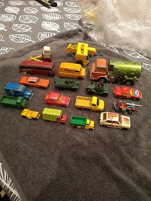 Job Lot Of Old Diecast Vehicles