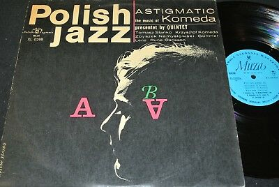 POLISH JAZZ vol.5 KOMEDA QUINTET Astigmatic Komeda / Polish LP 1966 MUZA XL 0298