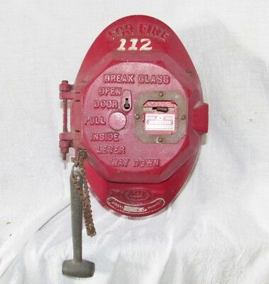 Vintage ADT Fire Alarm Pull Box – Type 1046 - Steampunk