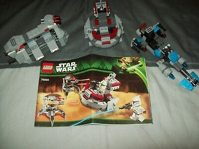 Lego Star Wars - 3 x Mini Set Models