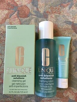 Clinique Anti Blemish Solutions - 3 Step System - Full Size/BRAND NEW