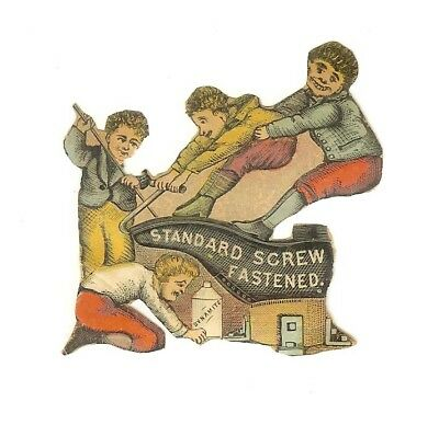 lot of five 5 Boys and Girls Child vintage small Victorian Scrap cir 1880 - 1890
