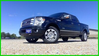 2014 Ford F-150 Platinum 2014 Platinum Used Turbo 3.5L V6 4WD Heated/Vented 1st Row Heated 2nd Row Seats