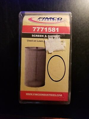 Fimco Industries 7771581 screen and gasket for lawn and garden sprayers