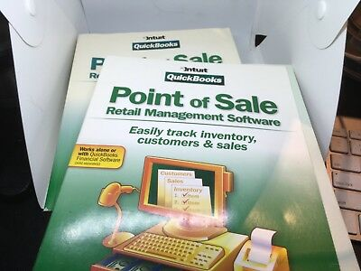 Point Of Sale Quickbooks Retail Management Software Key Code V7.0 with book