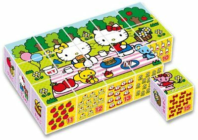 Hello Kitty Kubuspuzzle 15 Teile (Japan Import)