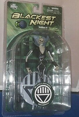DC Comics Blackest Night: Series 5: Black Lantern Deadman Action Figure NEW