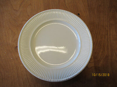 Wedgwood England EDME GOLD TRIM Dinner Plate & Cereal Bowl 2 pcs