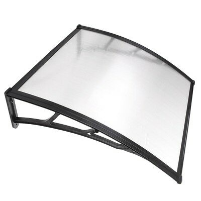 40*40 Window Doors PC Awning Sun Shade Canopy Polycarbonate Clear Hollow Sheet