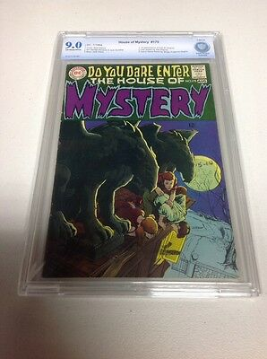 House Of Mystery 175! Cbcs 9.0! First Cain! Hi Grade Key Issue Not Cgc!