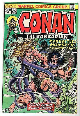 Conan The Barbarian #32, Very Fine - Near Mint Condition