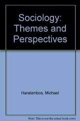 Sociology: Themes and Perspectives by Holborn, Martin Paperback Book The Cheap