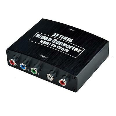 XF TIMES 4K HDMI to YPbPr Component 5RCA V1.4 RGB Converter Adapter and R/L Audi
