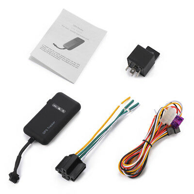 Vehicle Bike Motorcycle Car GSM/GPRS Real-time Tracker Monitor Protector AH208