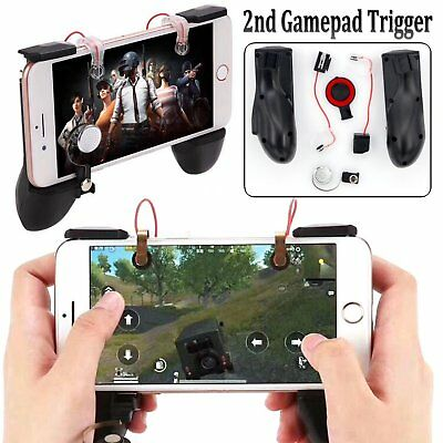 Game Trigger Gamepad Fire Button Aim Key L1R1 Shooter Controller For Android IOS