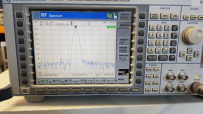 Rohde & Schwarz Universal Radio Communication Tester CMU200 (inc. BT)