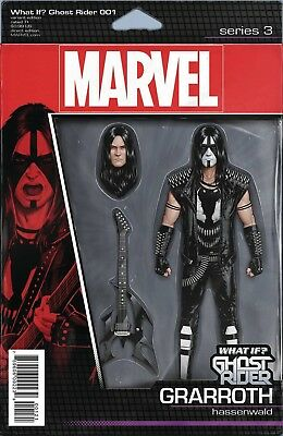 What If? Ghost Rider #1 Christopher Action Figure Variant Marvel Comics Nm