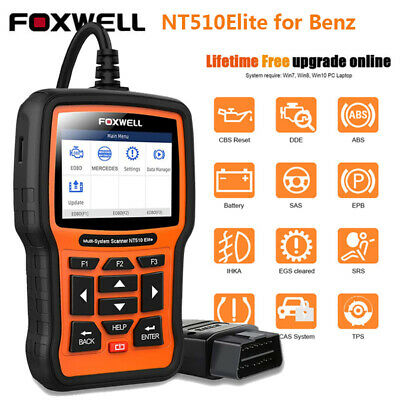 For DODGE JEEP Chrysler Automotive OBD2 ABS SRS BMS Diagnostic Scan Tool NT520