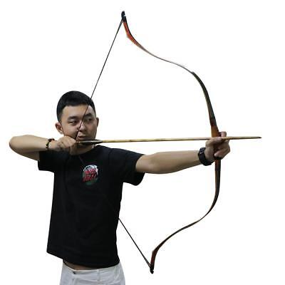 "30-50lbs 50"" Traditional Turkish Handmade Recurve Bow Longbow Hunting Horse Bow"