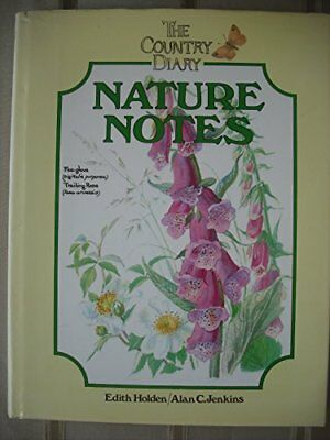 The Country Diary Nature Notes by Edith Holden Hardback Book The Cheap Fast Free
