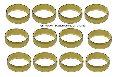 15mm Brass Olives (10-15-20-25-50 Pack) For Compression Plumbing Fittings