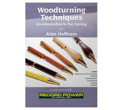Record Power Woodturning Techniques DVD - Introduction to Pen Turning with Alan