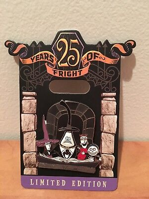 Disney Pin 25 Years of Fright Nightmare Before Christmas Mayor Lock Stock Barrel