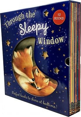 Through The Sleepy Window Collection 10 Books Set Pack Children Bedtime Stories